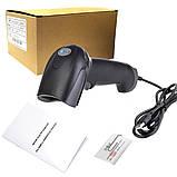 Лазерный сканер штрихкода F5, отличное качество, работает в Торгсофт, фото 4