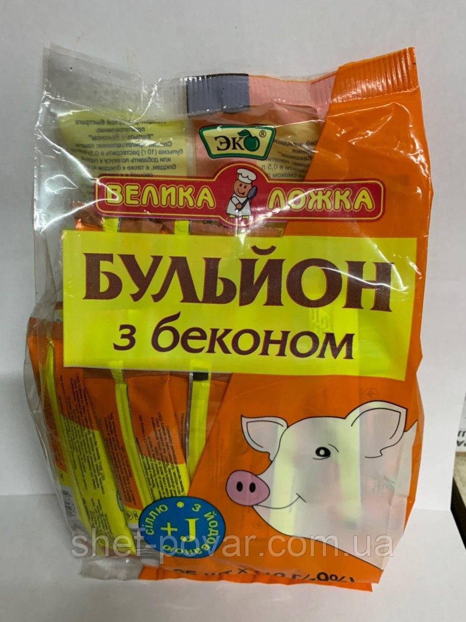 "Бульон с беконом ТМ ""Эко"""