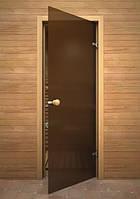 Стеклянные двери для сауны и бани SILEX - Матовая - Универсальные 800x2100