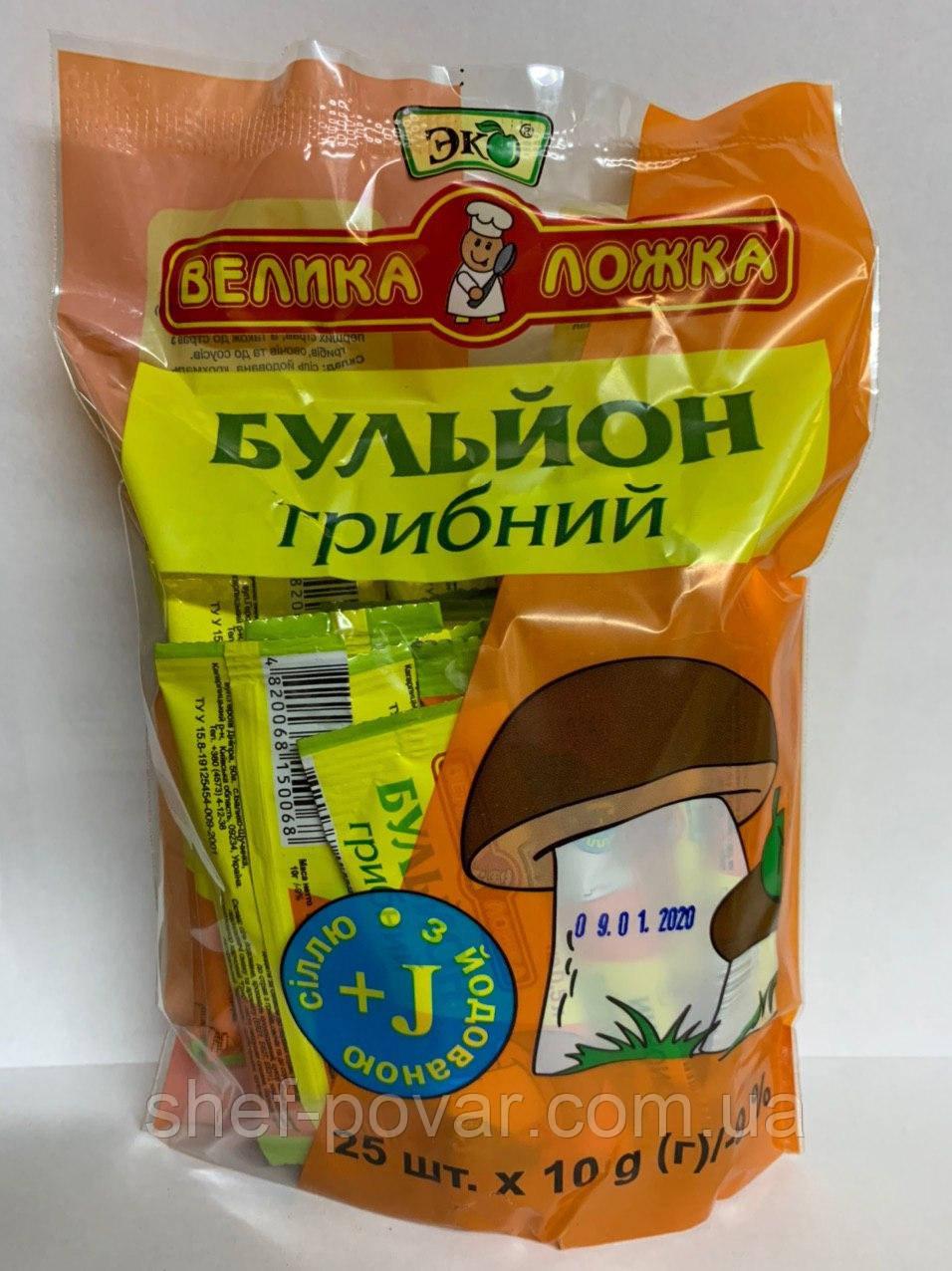 """Бульйон """"Грибний"""" ТМ """"Еко"""""""