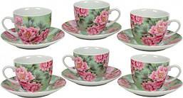 Набор чайный Пионы Keramia 24-198-056 13 предметов