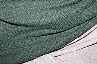 Ангора мягкая, теплая, фактурная вязка, не формодержащая , хаки, пог. м. № 228