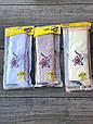 Дитячі колготи принт квітка бавовна KBS для дівчаток 7 років 6 шт. в уп. мікс із 3х кольорів, фото 2