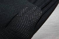 Ангора мягкая, теплая, фактурная вязка, не формодержащая , черный, пог. м. № 229, фото 1