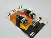 Лампочка без цок.Т10 10LED CAN 7020-10 12V Cyclone 067 (220 lumen)