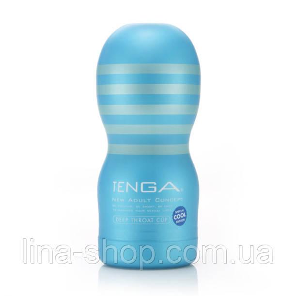 Мастурбатор Tenga Cool Edition Deep Throat Cup, 15Х4,5 см