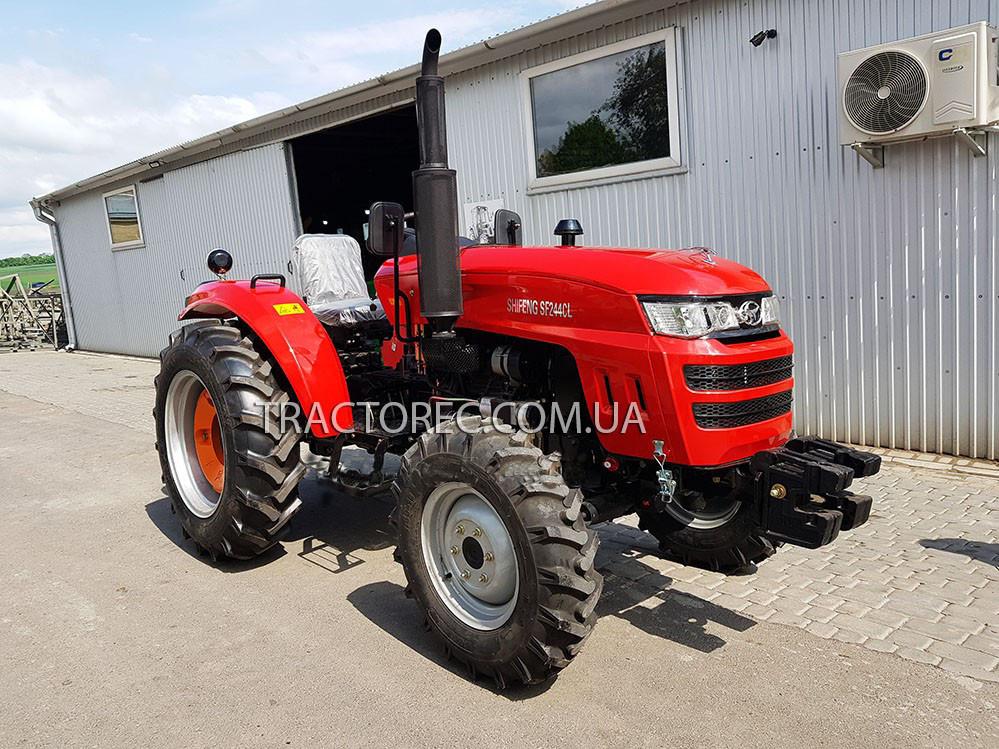 Трактор SHIFENG SF244CLX, 24 к.с, ГУР, 4Х4, увеличенные шины, ПРЕМИУМ КОМПЛЕКТАЦИЯ! Бесплатная доставка!