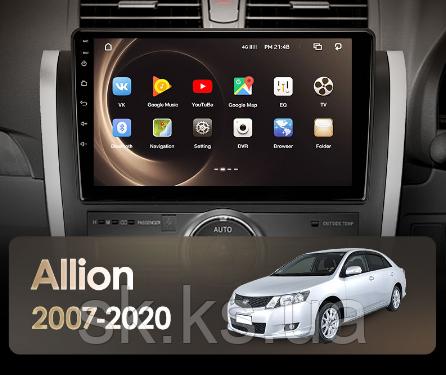 Junsun 4G Android магнитола для Toyota Allion T260 2007 - 2020