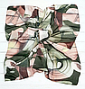 Легкий платок Zambak Ирма батист 95*95 см оливковый