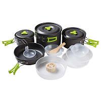 Набор туристической посуды из алюминия на 4-5человек, фото 1