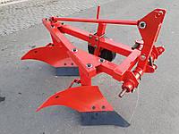 Польский плуг для мини-трактора Wirax Виракс 2x25. Тракторный качественный плуг польша аналог Бомет 2х25, фото 1