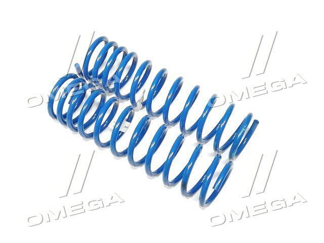 Пружина подвески ВАЗ 2108 переменный шаг задняя в пленке (к-т 2 шт.) (про-во Фобос)  2108-2912712