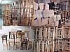 """Табурет барний """"сірий"""" (буковий) (60*30*30см), фото 4"""