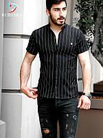 Мужская черная рубашка, фото 1