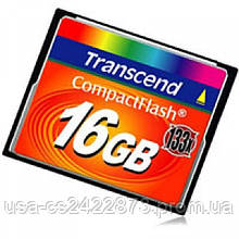 TS16GCF133 Transcend Карта памяти Transcend 16Gb Compact Flash 133x (TS16GCF133)