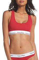 Комплект женского нижнего белья стринги + топ + шортики Calvin Klein, фото 3