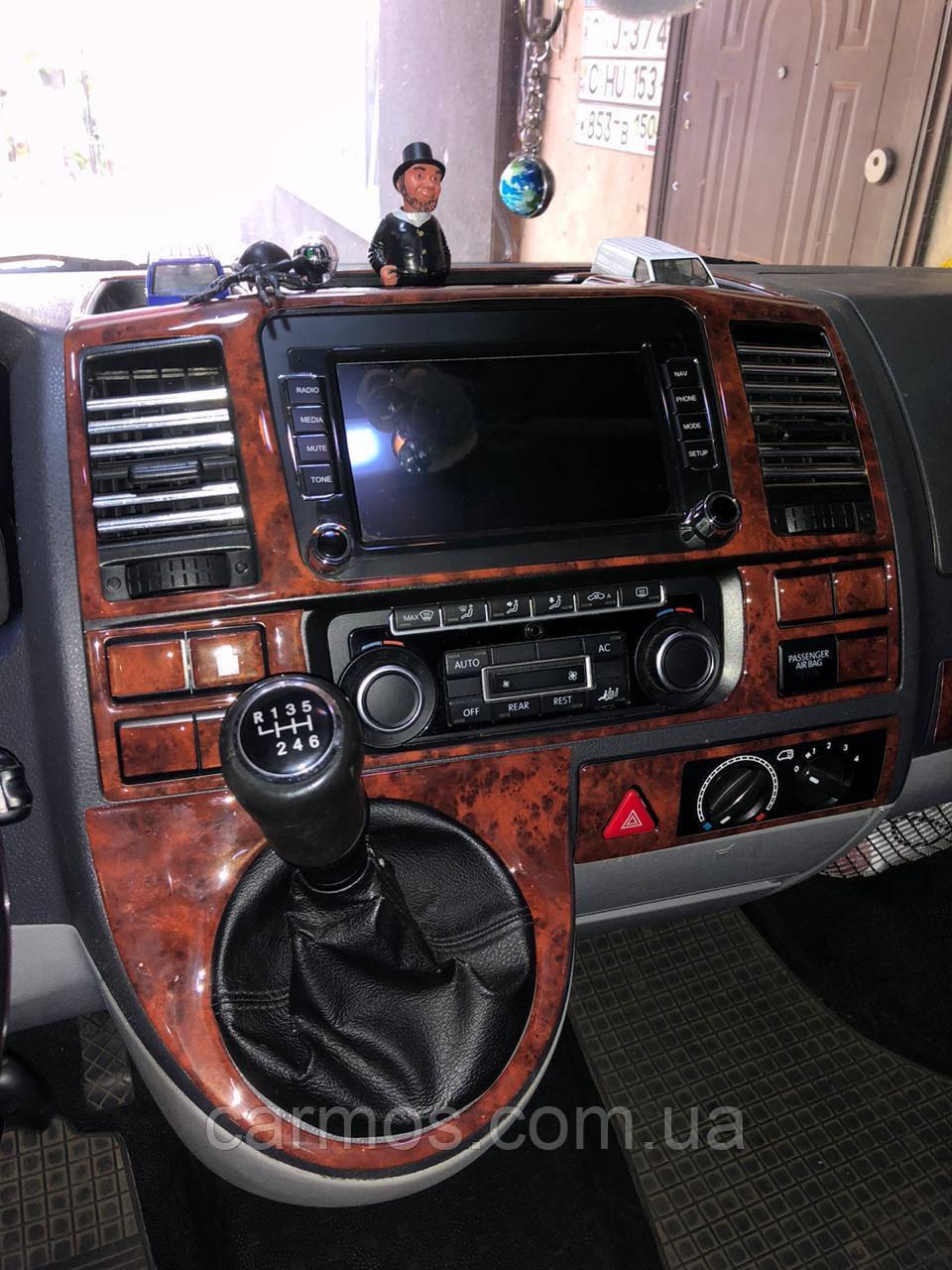 Декор панели (накладки на панель) Volkswagen Т5/T6 (фольксваген т5/т6 (2010>)