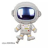 Куля фольга фігурки Космонавт A0379