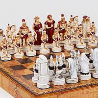 """Набор шахмат """"Троянская битва"""" (Small size), фото 1"""