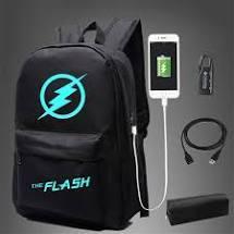Светящийся молодежный городской рюкзак MOZER с usb зарядкой и кодовым замком