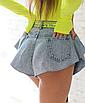 Женские шорты джинсовые Monika, фото 9
