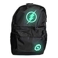 🔝 Стильный мужской светящийся рюкзак с USB зарядкой для школы Flash, школьный портфель для подростков | 🎁%🚚