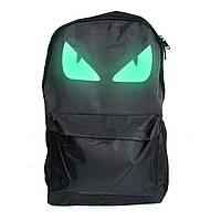 🔝 Светящийся рюкзак для подростка с Глазами и USB зарядкой, школьный молодежный рюкзак для мальчиков  | 🎁%🚚