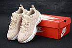 Женские кроссовки Nike M2K Tekno (бежевые) 11975, фото 3