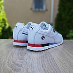 Мужские кроссовки Puma Roma BMW (белые) 10221, фото 7