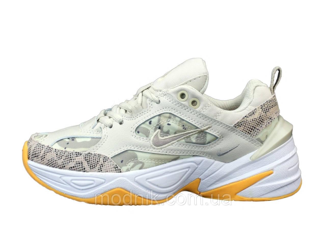 Женские кроссовки Nike M2K Tekno (светло-серые) 12115