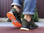 Мужские кроссовки Adidas Marathon TR 26 (темно-зеленые) 9650, фото 2