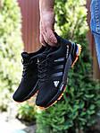 Мужские кроссовки Adidas Marathon TR 26 (черно-оранжевые) 9653, фото 2