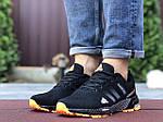 Мужские кроссовки Adidas Marathon TR 26 (черно-оранжевые) 9653, фото 4