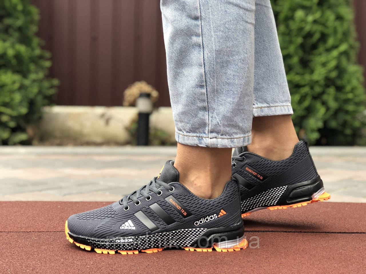 Женские кроссовки Adidas Marathon TR 26 (серые) 9658