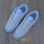 Женские кроссовки Nike Air Force 1 Shadow (белые) 20182, фото 5