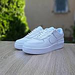 Женские кроссовки Nike Air Force 1 Shadow (белые) 20182, фото 7