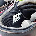 Мужские кроссовки OFF-WHITE Nike Air Jordan 1 High '85 (красно-черные) 10230, фото 6