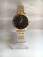 Женские наручные часы Сhаnеl (в стиле Шанель), золотисто-черный цвет ( код: IBW206YB )