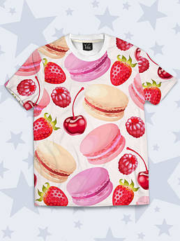 Дитяча футболка Макаруни і ягоди