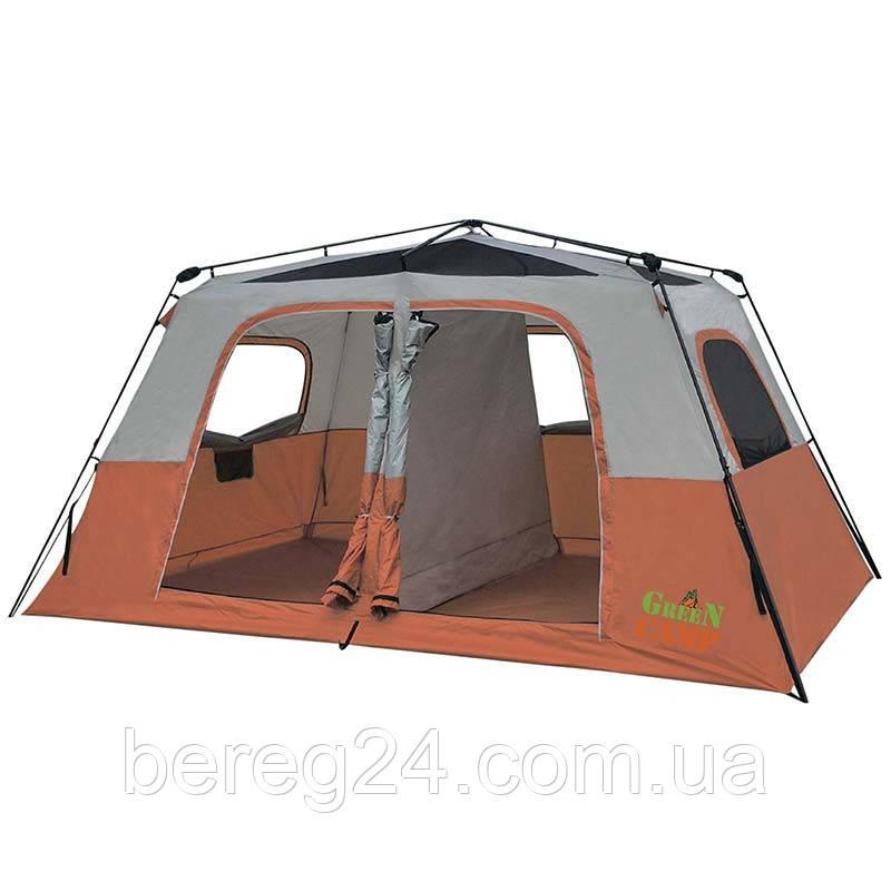 Палатка восьмиместная Green Camp 1610