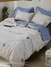 Комплект постельного белья из натурального , хлопка,  ( сатин)  220 х 200
