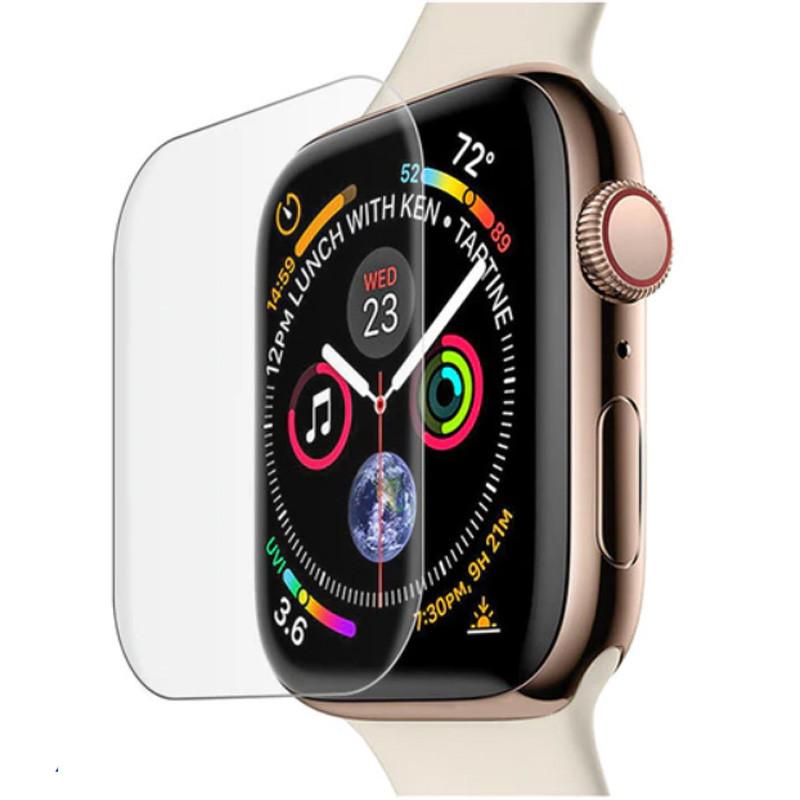 Защитное 3D стекло Mocolo с УФ лампой для Apple watch (44mm)