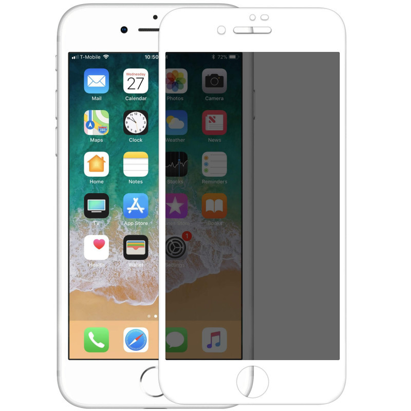 Защитное стекло Nillkin Privacy Glass Full Screen (3D AP+MAX) для Apple iPhone 7 / 8 / SE (2020)