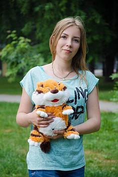 Плюшевый тигренок Апельсинчик 35 см