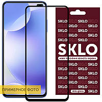 Защитное стекло SKLO 3D (full glue) для Samsung Galaxy A41, фото 1