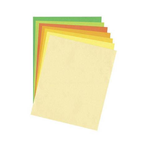 Бумага для дизайна В2 Folia Tintedpaper 50x70см №14 желтая 130г/м без текстуры 4001868067149, фото 2