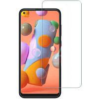 Полимерная пленка 3D Clear (full glue) (тех.пак) для Samsung Galaxy A11