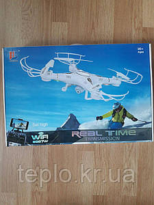 Квадрокоптер с камерой Real Time Tranmission 8987W