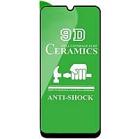 Защитная пленка Ceramics 9D (без упак.) для Samsung Galaxy A31