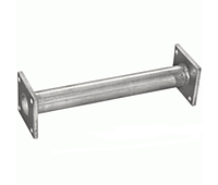 Труба соединительная (вместо катализатора) Daewoo Nexia (Polmostrow) 96351141